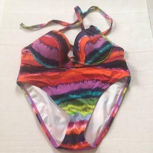 Victoria's Secret multi color bikini set